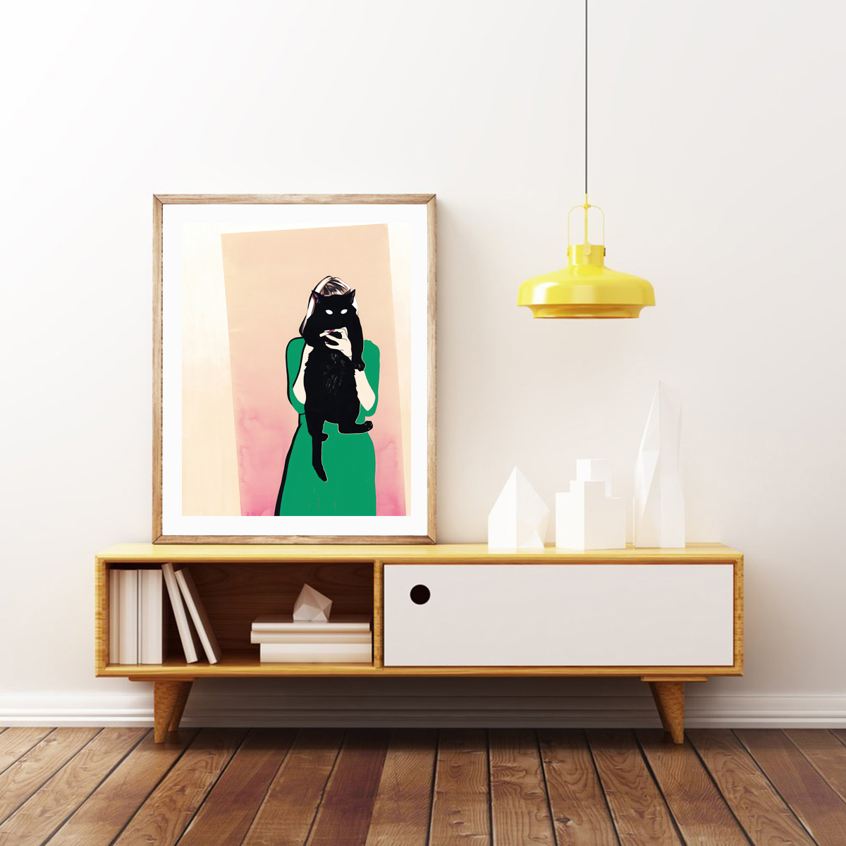 Custom-sized    SEEK    print