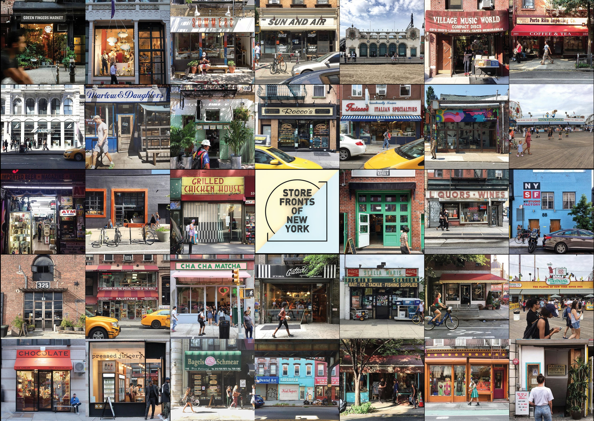 Storefronts of New York - Experiment No.04 -A photo series documenting storefronts of NYC