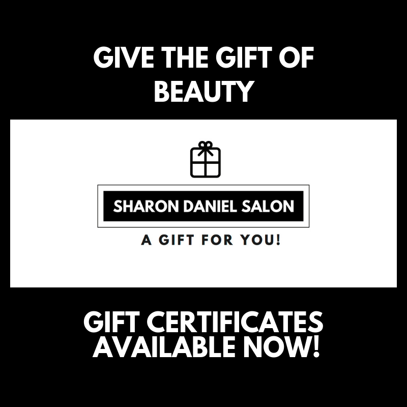 Sharon Daniel Salon Schaumburg, IL GIFT certificates AVALIBLE.png