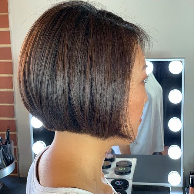 "Performed By Sharon Daniel Salon Professional Stylist Daylie @dayliesds . ""You cant tell by looking, but she has an undercut! 👀 & thats the point , my guest has extremely thick coarse hair & loves having short hair. So we came up with a solution! Having shorter hair underneath her desired length allows her hair to keep this beautiful shape!"