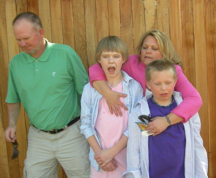 Filholm Family, Easter, 2010