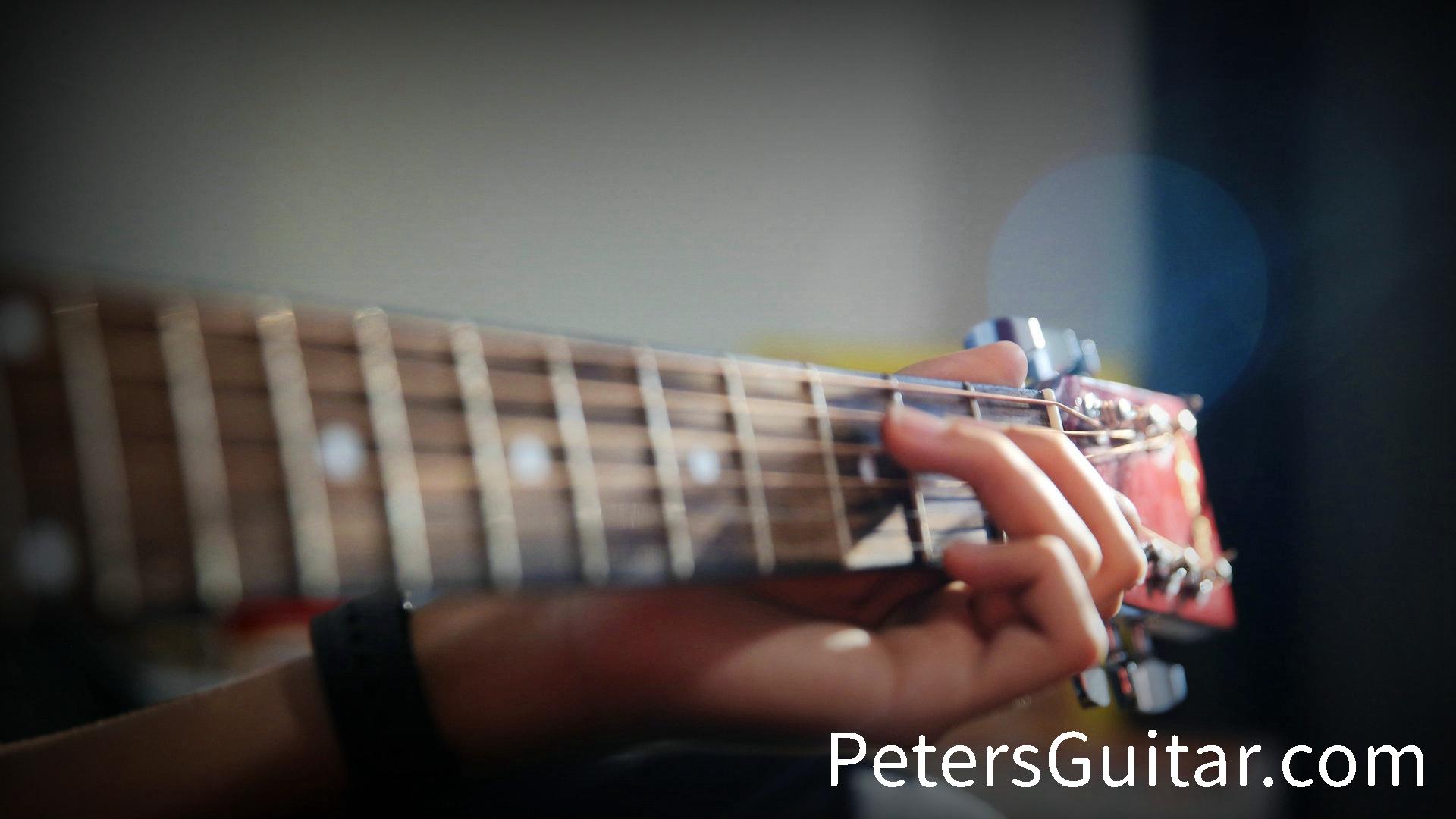 成人吉他课及45+女士吉他课