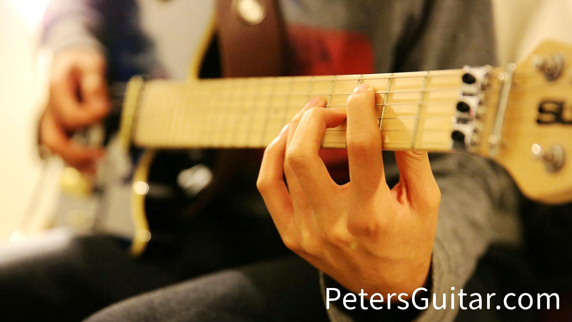 电吉他SOLO 20小时速成课程
