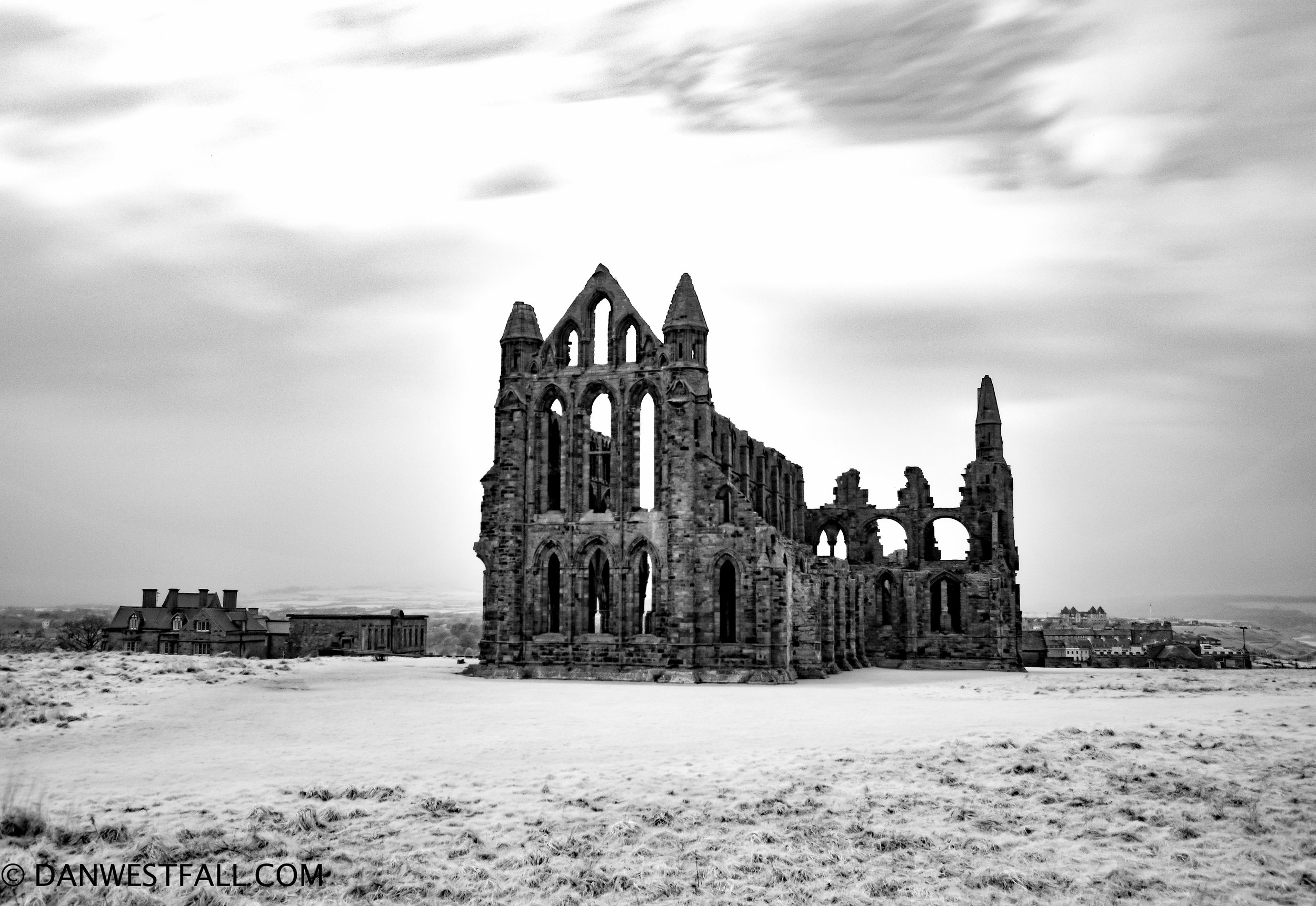 England. Whitby Abbey 1 infrared #0683