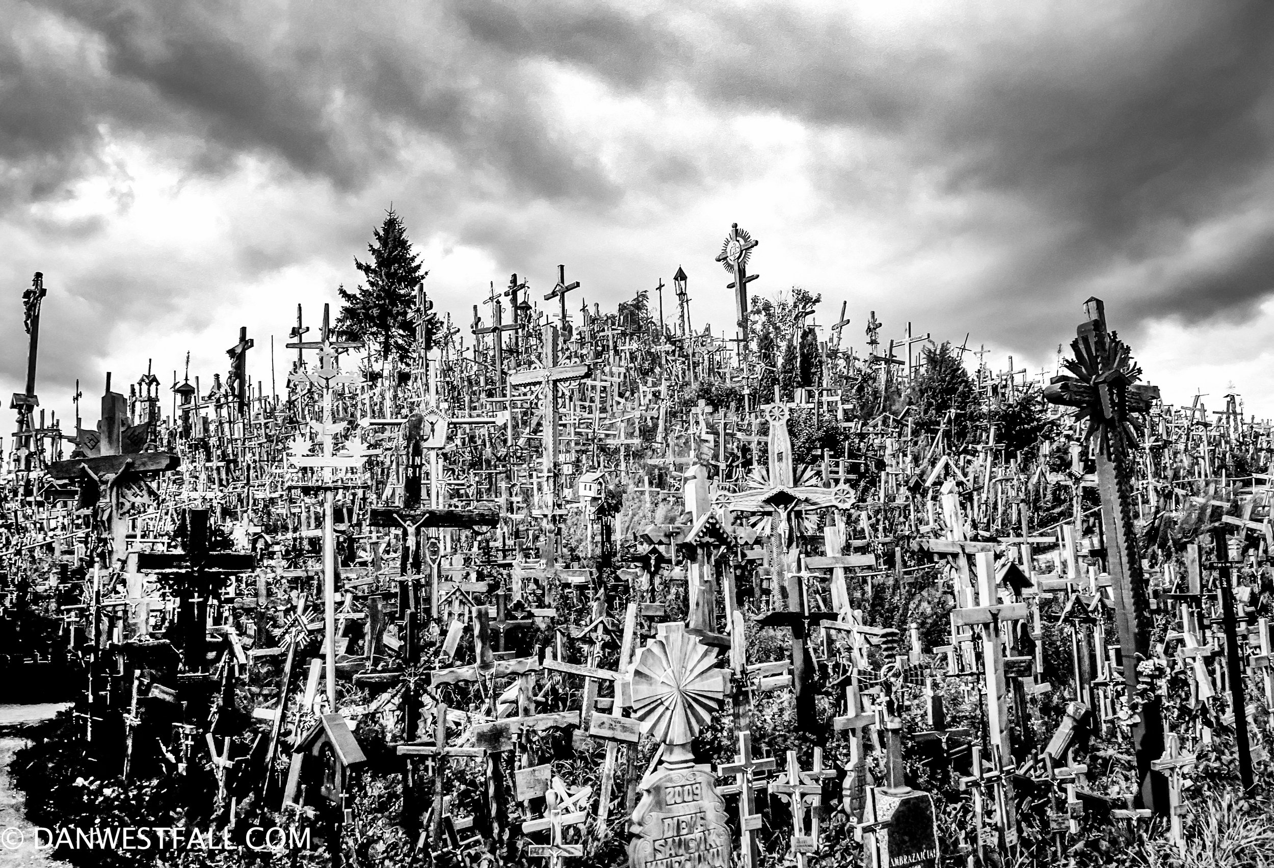 Lithuania. Hill of Crosses 5. #.0685