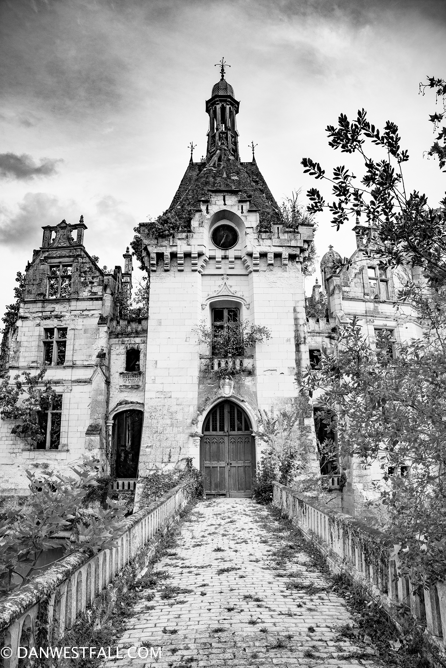 Chateau Ruin in France. #727