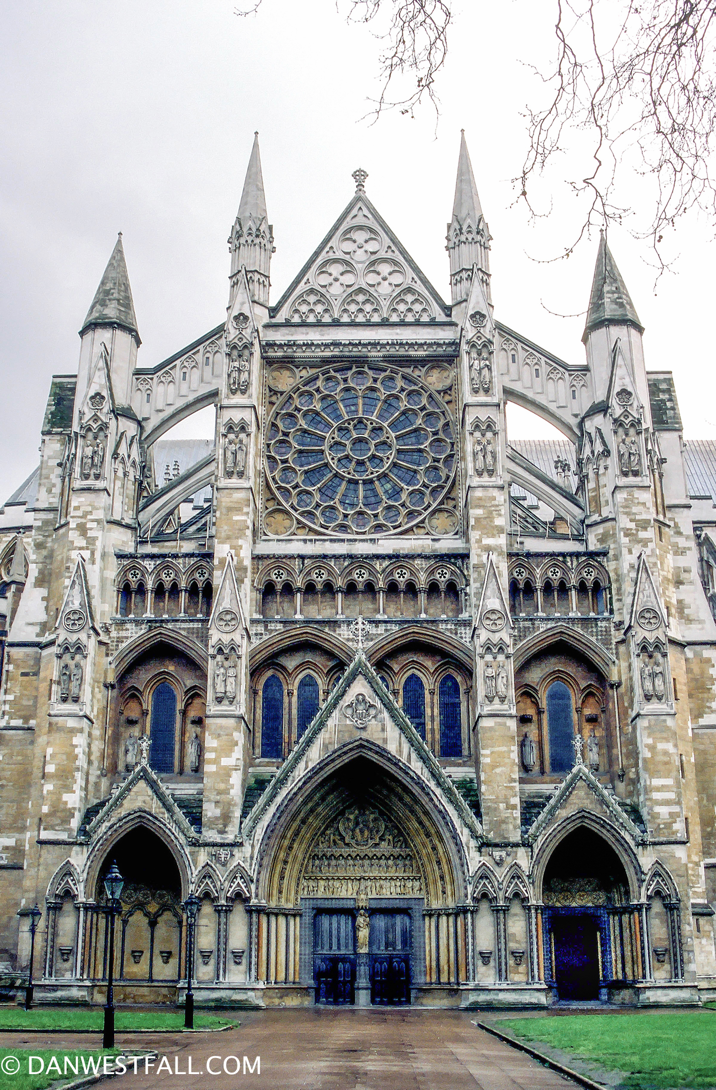 Westminster Abbey. London #0374