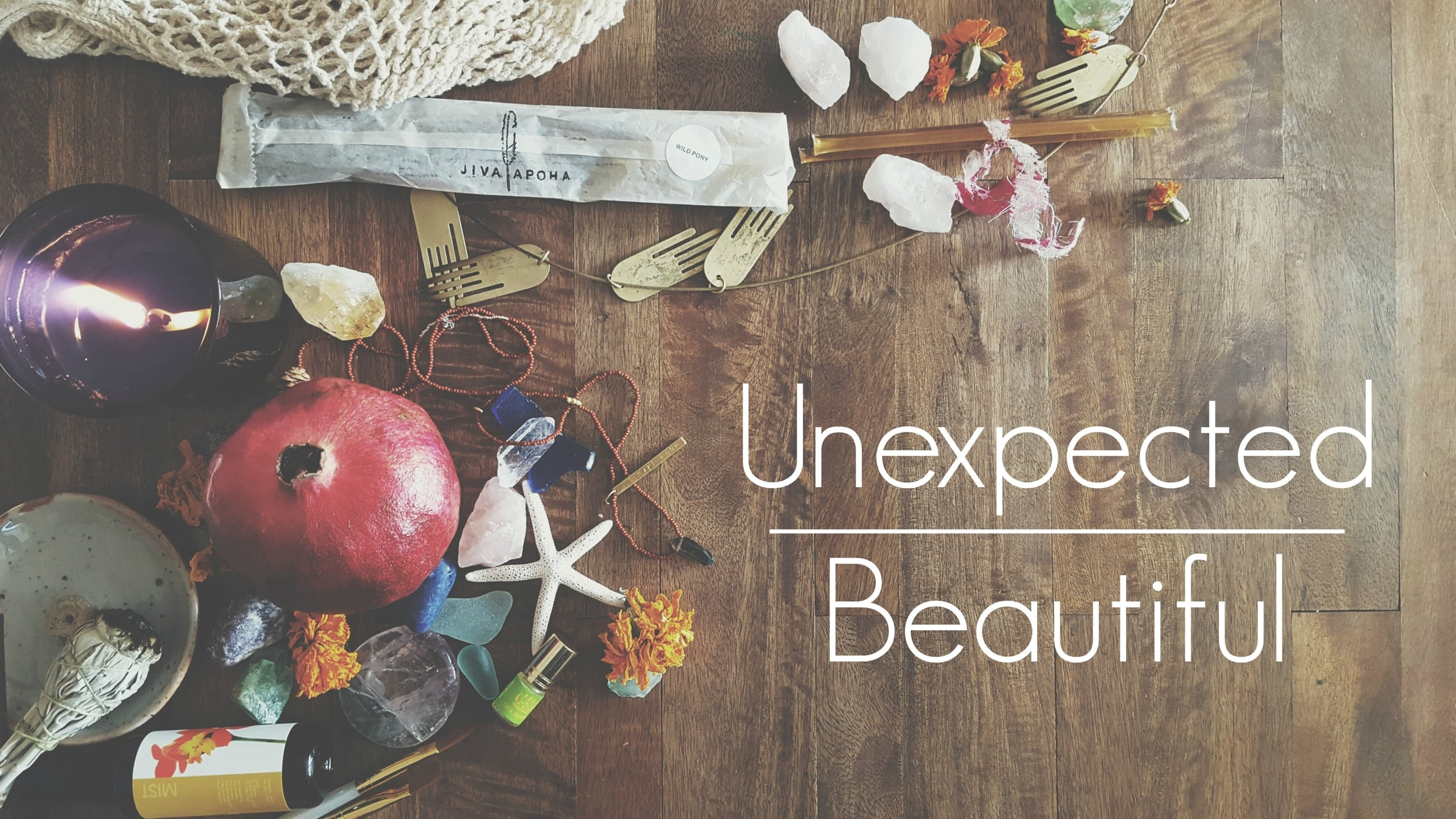 unexpected|beautiful e-course by Stephanie Perkinson