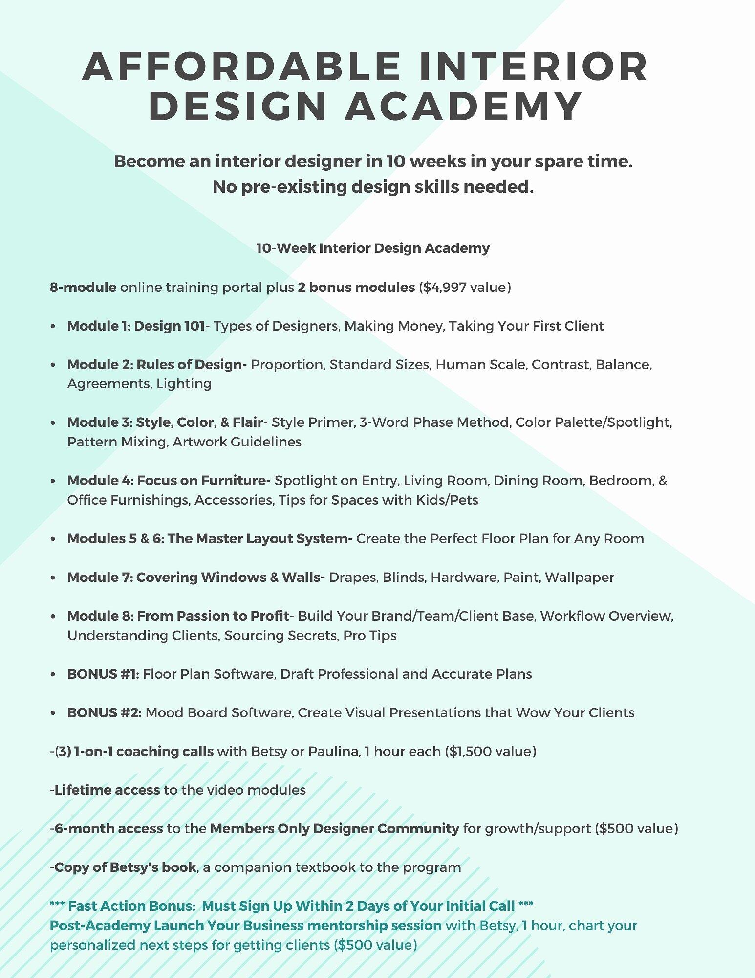 Virtual Decorating Course Interior Design Classes Online Affordable Interior Design