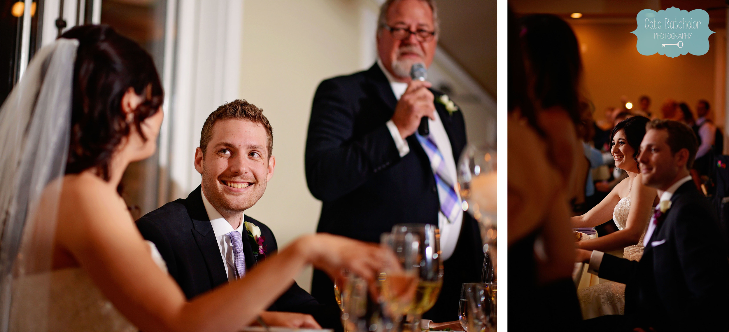 Some truly heartfelt toasts to the bride and groom.