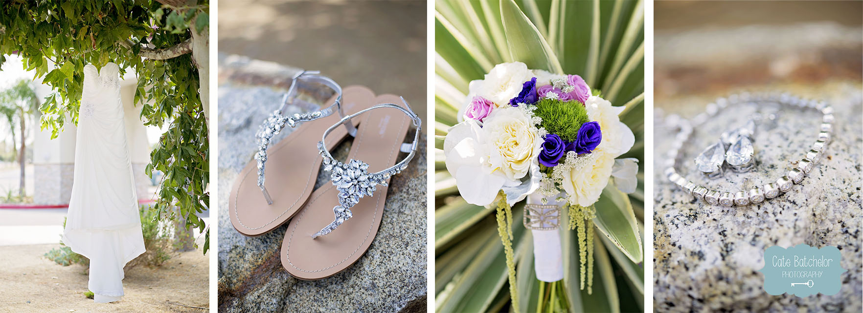 Just a few of the beautiful details that Jen wore on her wedding day.