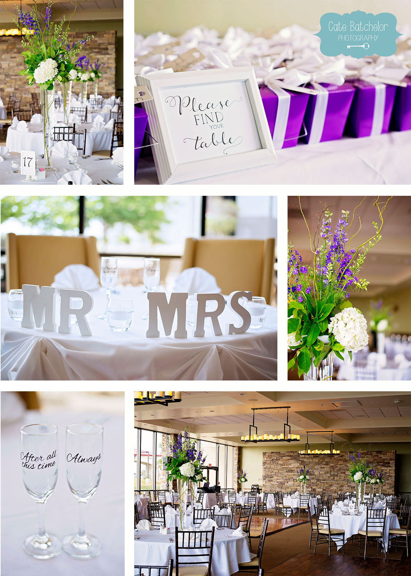 Beautiful reception details!