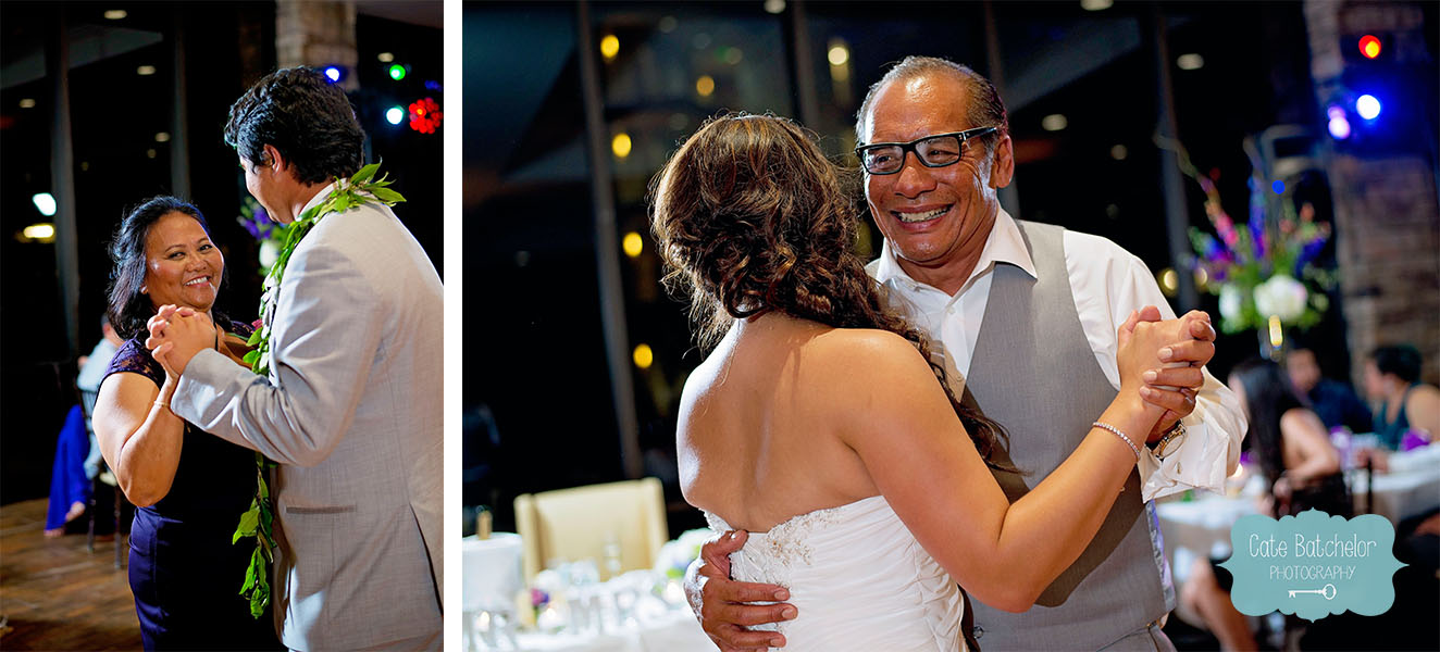 Mother/son and father/daughter dances.
