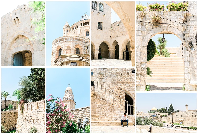 The city of Jerusalem.