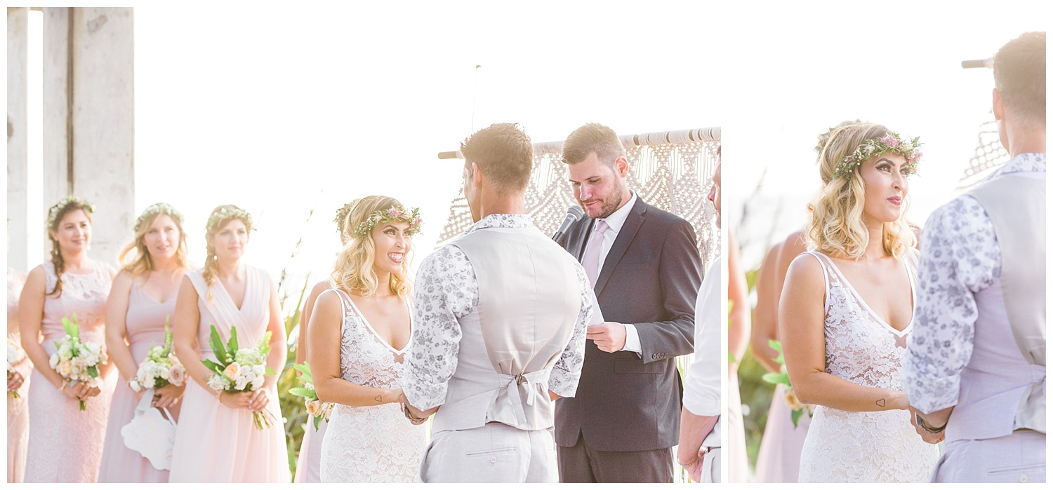 Close friend, Price, marries Heather and Ryan.