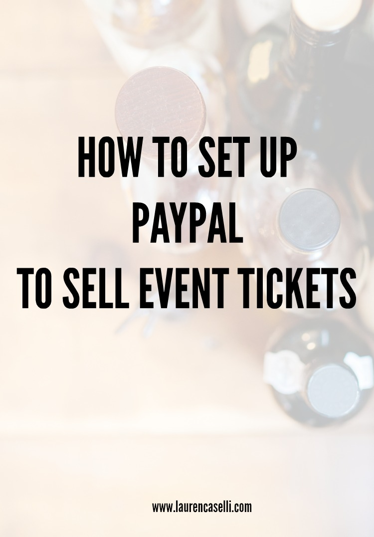 So you want to sell tickets without buying a fancy event software? Here's how!
