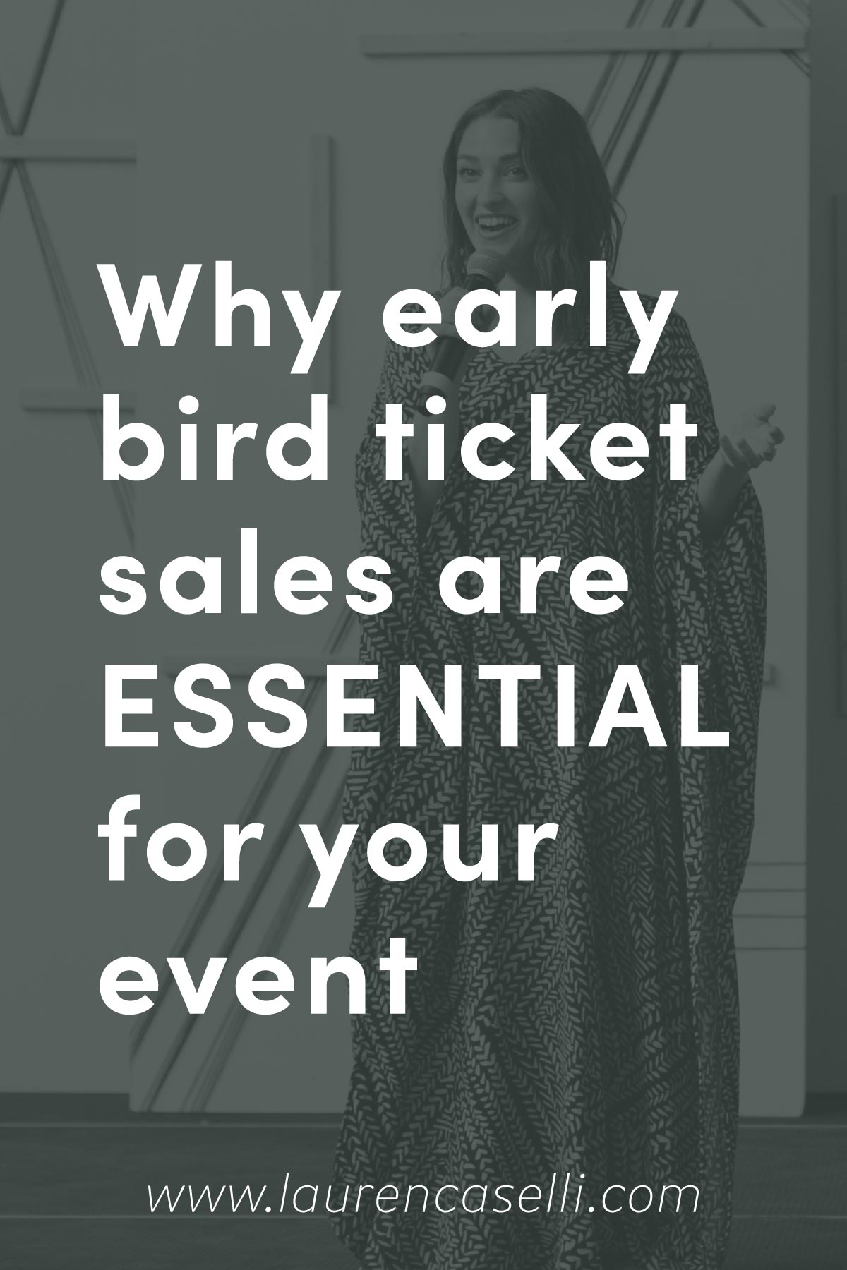 Should I have early bird tickets for my event? Yes! Find out why here.