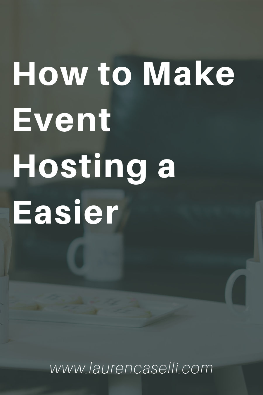 Hosting events can be draining, especially when you're marketing, planning…all the things! Here are some tips to take some of the legwork out of it.