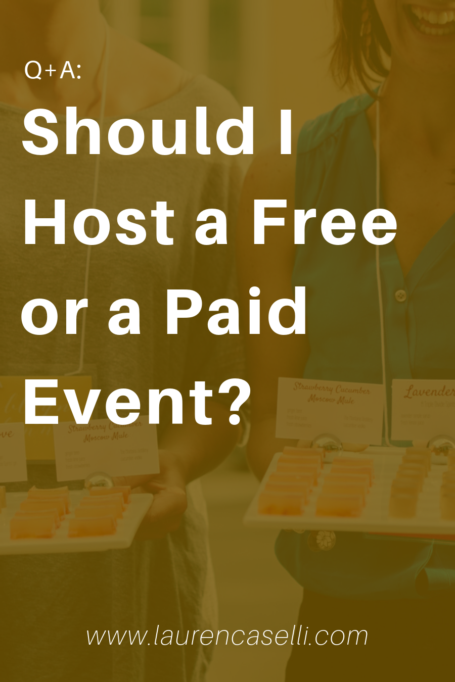Struggling with whether or not to host a free or a paid event for your business? Check out today's post with the questions you should ask yourself before you do.