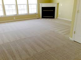 Residential  Carpet Cleaning from start to dry takes less than half a day.