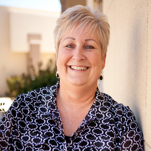 Cindy Mathews, Receptionist