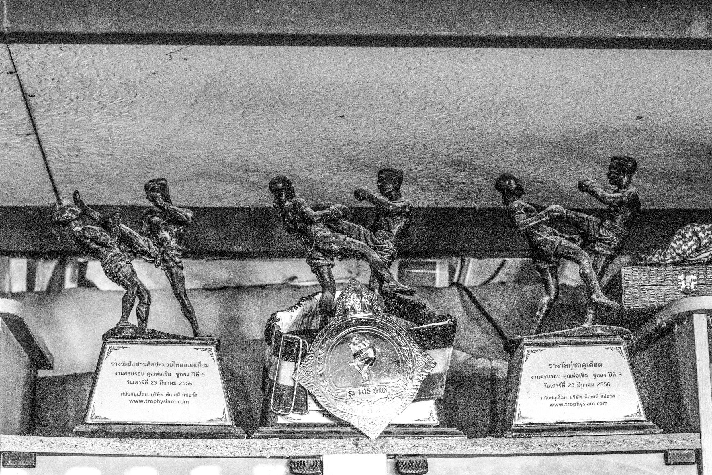 Trophies (July 11, 2014 - Tha Sala, Thailand)