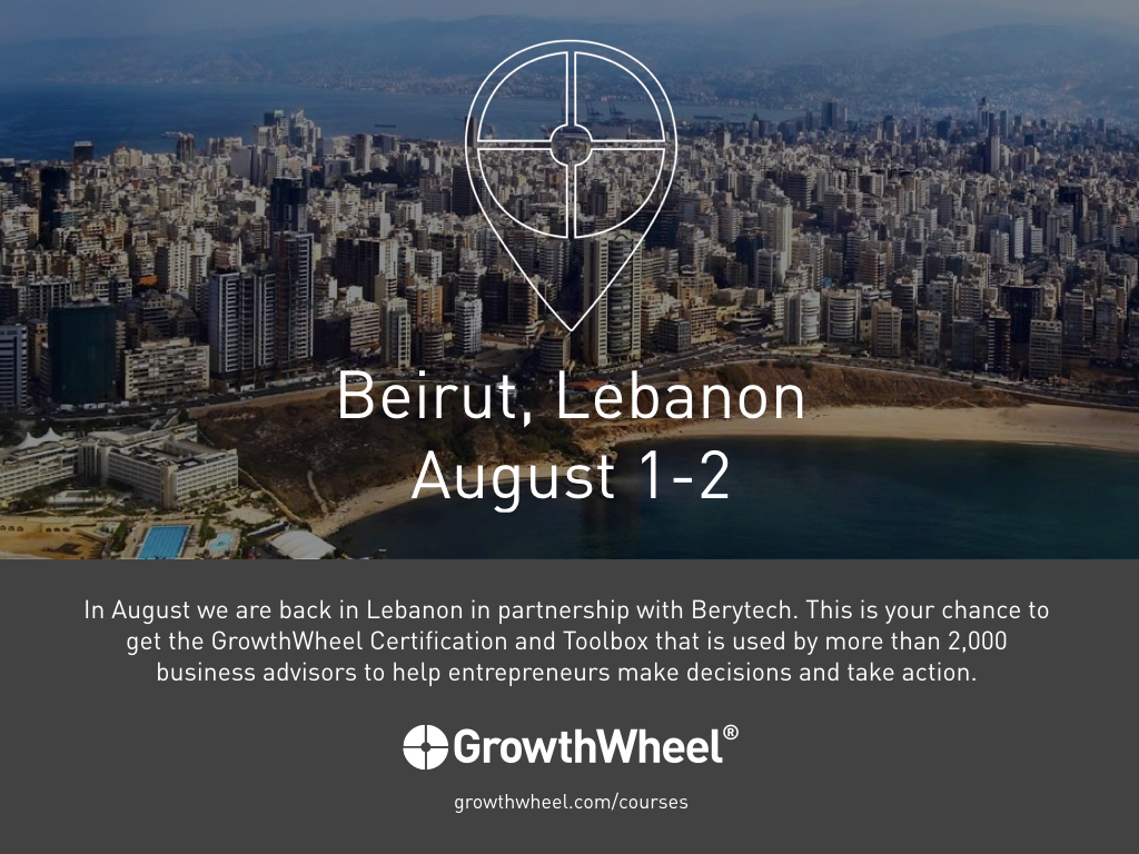 GrowthWheel Certification in Beirut