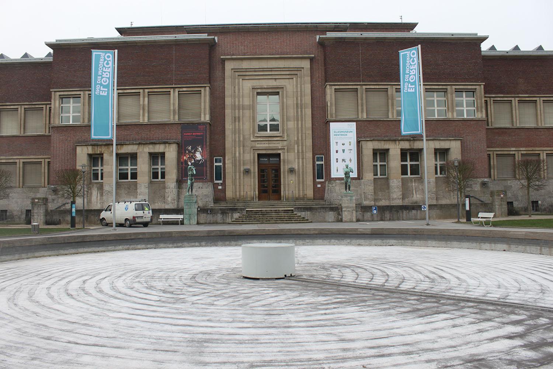 Kunst Palast, Düsseldorf, Germany, February 2012. Photo by Nomi Mishkin