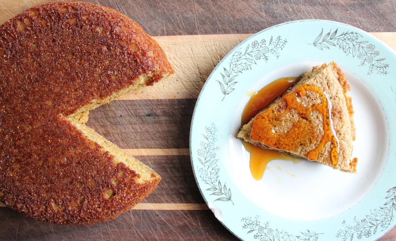 fig. d: corn bread hearts sorghum molasses