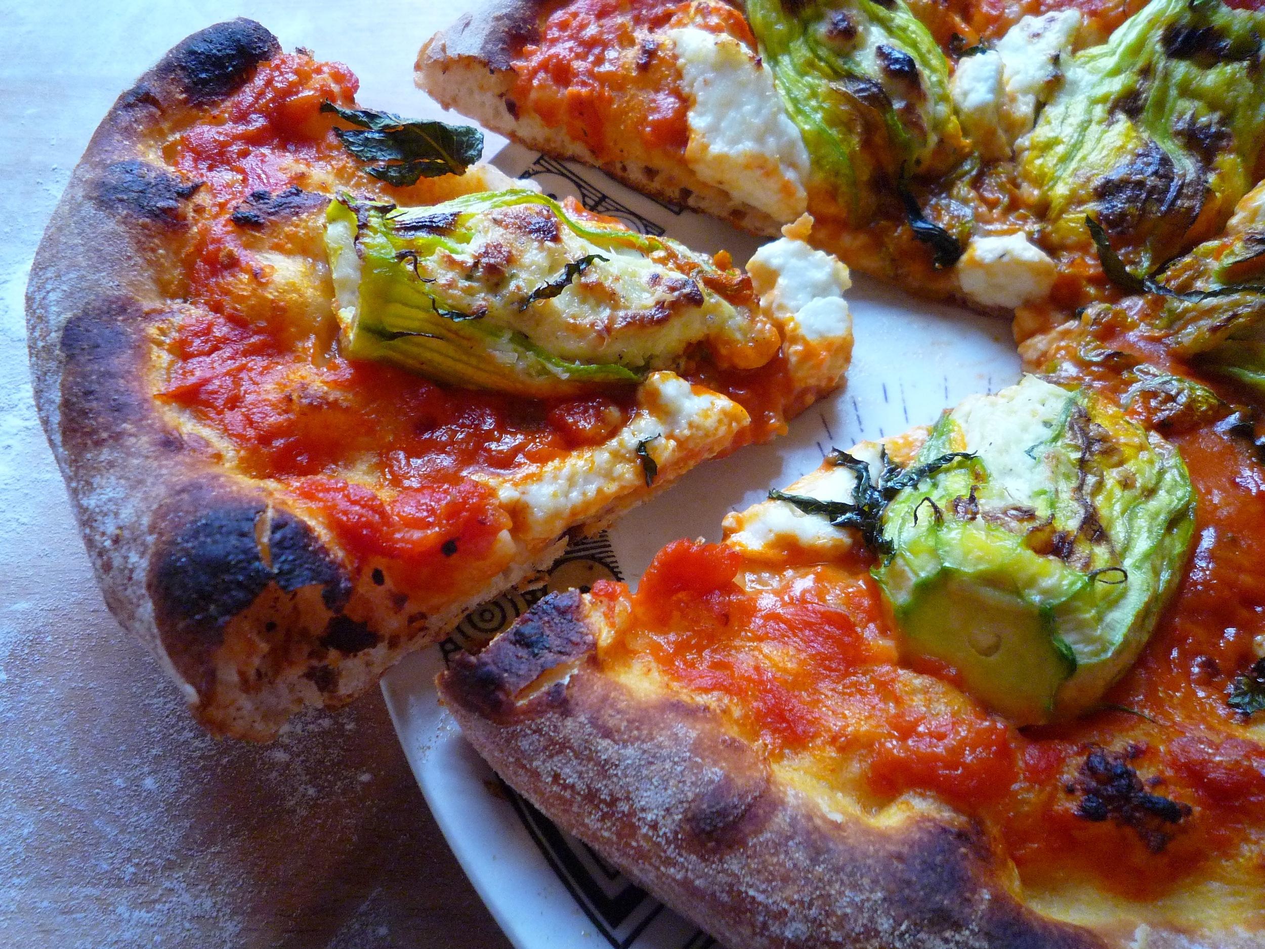 fig. g: zucchini blossom pizza 2