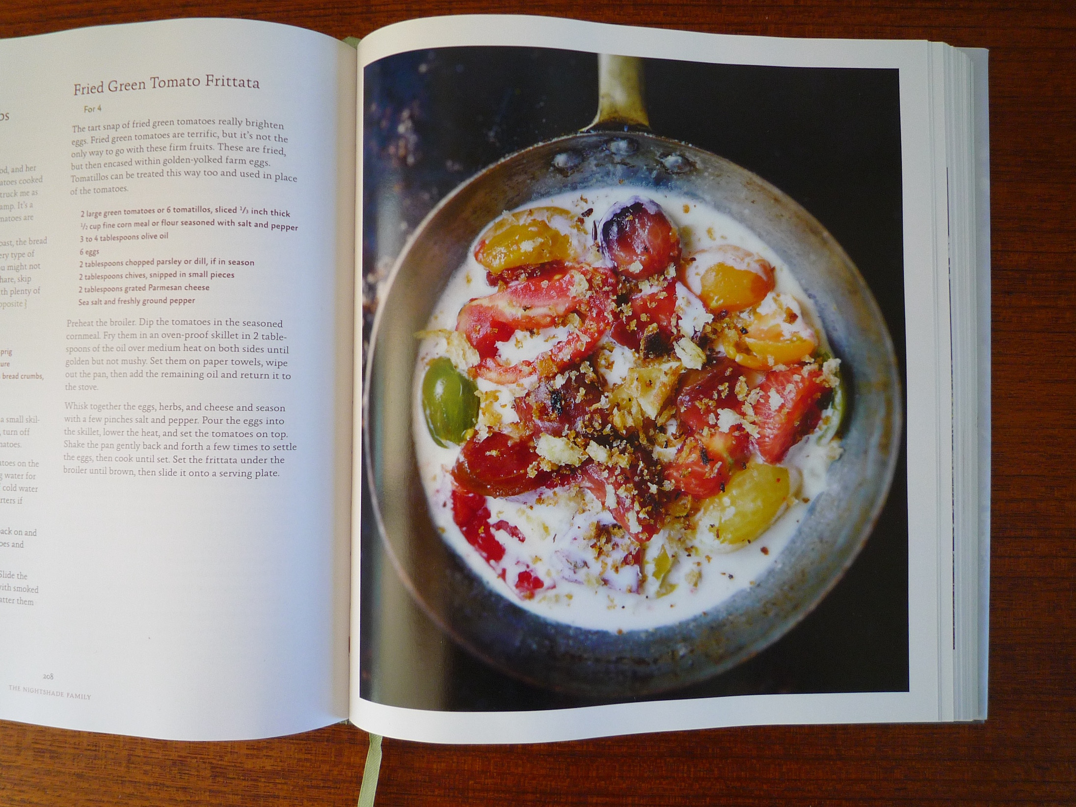 fig. b:  tomatoes & cream