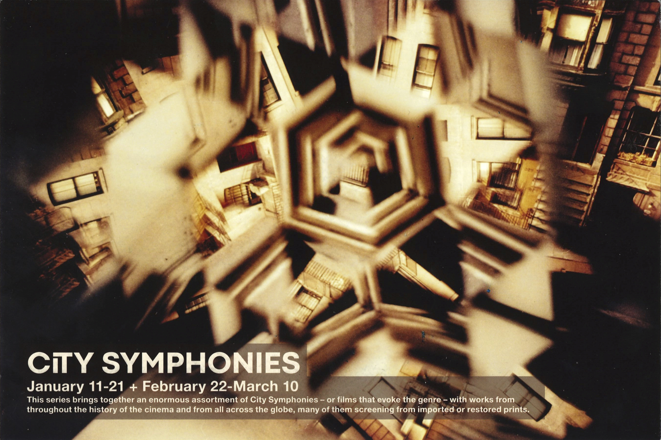 fig. a: city symphonies @ Anthology Film Archives