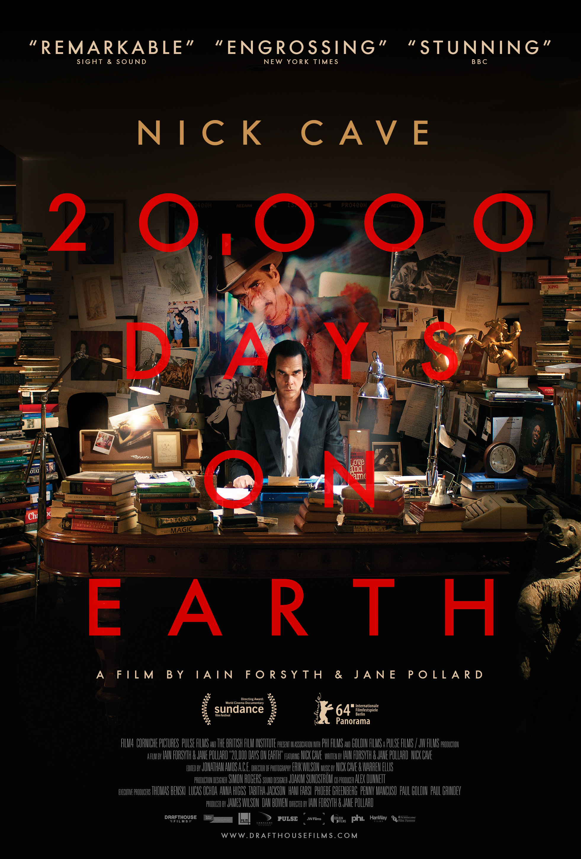 20,000 Days on Earth  (2014), dir. Forsyth & Pollard