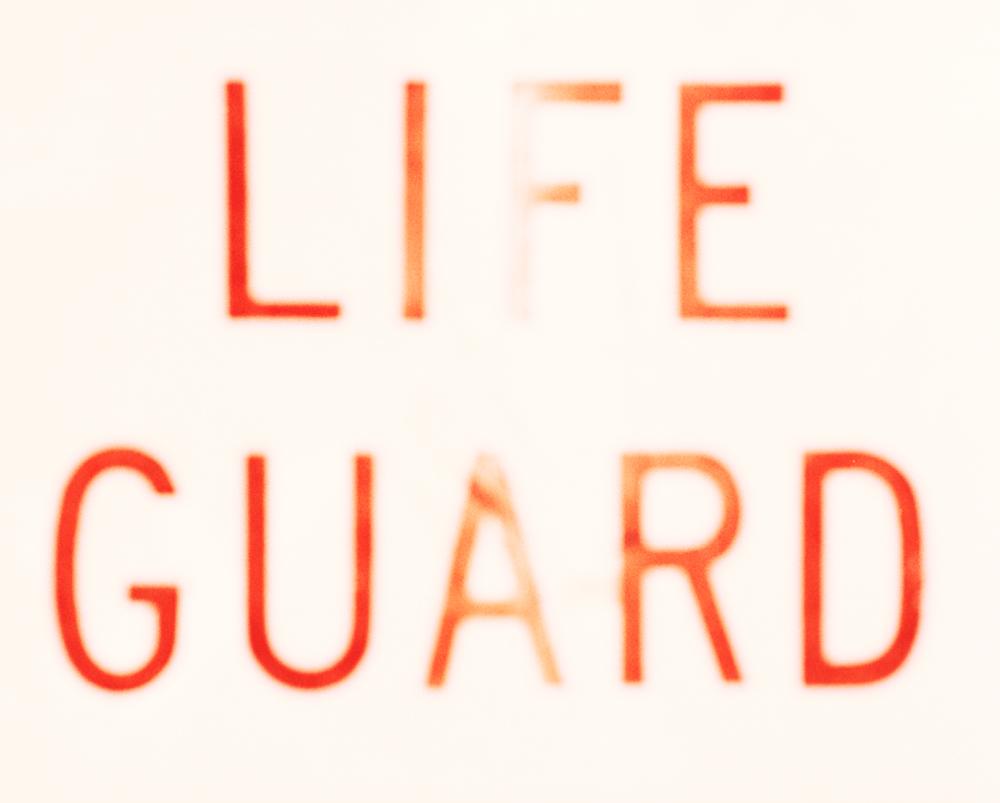 lifeguard sign, 2008