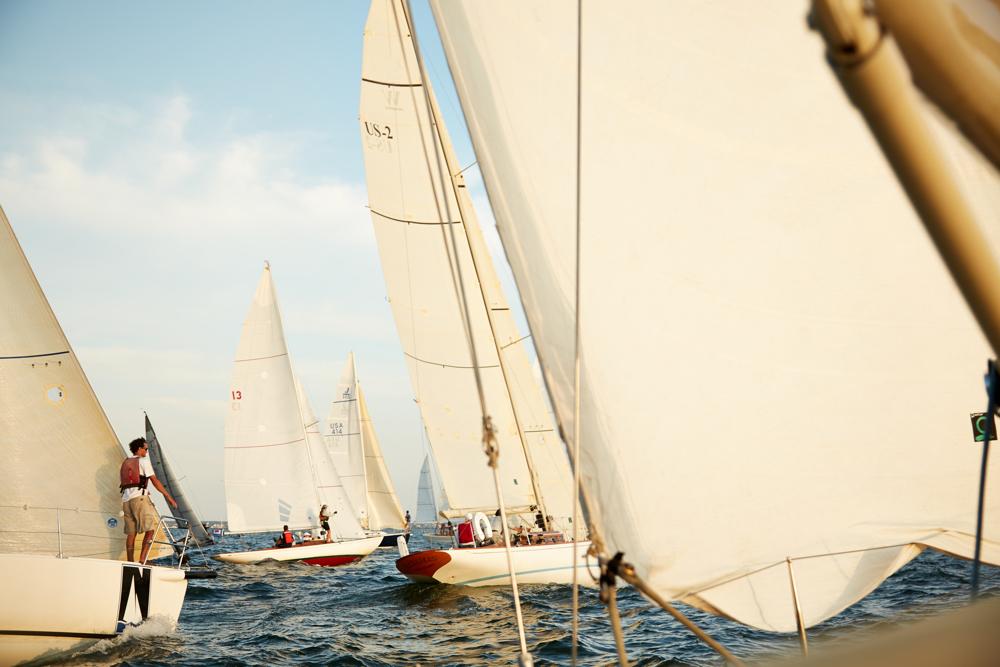 sailboat race, nantucket, 2013