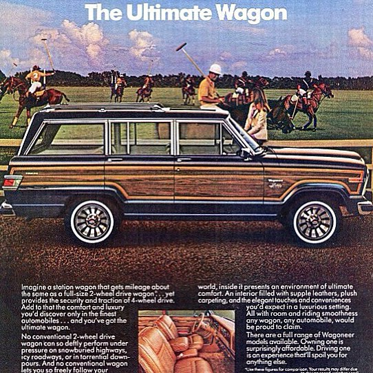 the ultimate wagon and official #mategallery vehicle #wagoneer #jeep photo @jeep_grand_wagoneer