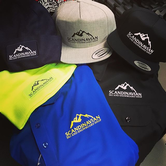 New logo and gear for one of our favorite shops! Hats, patch beanies, work shirts and polos.