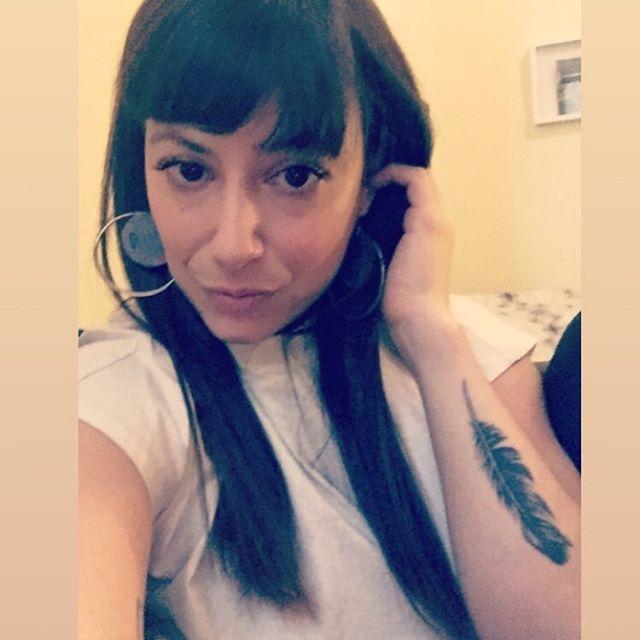 #selfportrait #portraitofanartist #brunette #browneyes #italiangirl #artist #collageartist #art #artsy #lesbian #lgbt #collage #emergingartist #gay #gallery #nycgalleries #pout #mothersday #artistsoninstagram