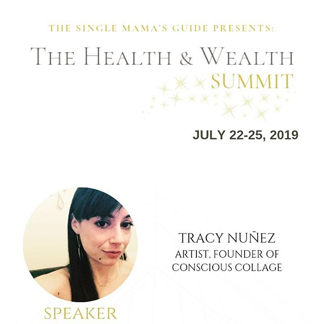 Join this virtual summit for single moms! There are so many great speakers and topics. #spirituality #art #consciouscollage #levelup #motivationalspeakers