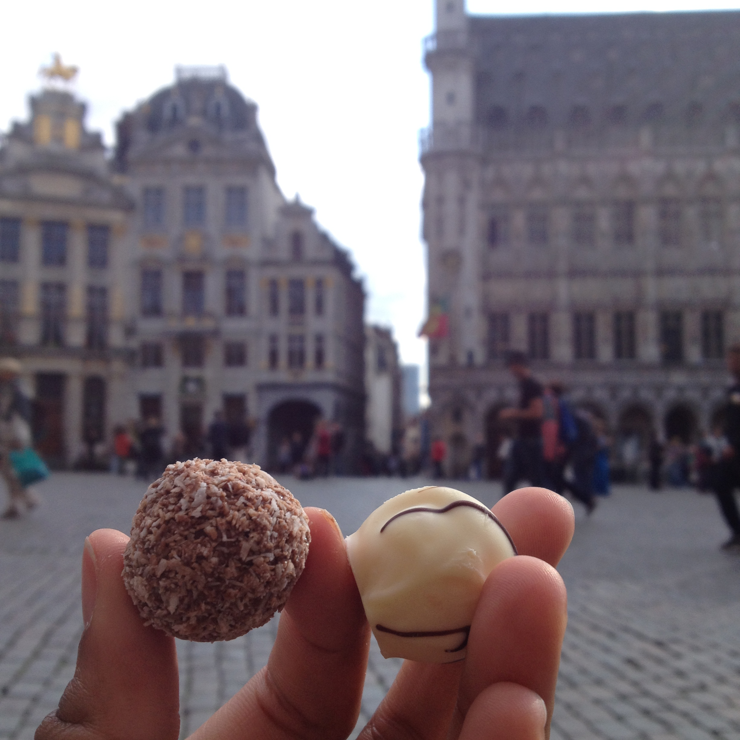 Pralines from Leonidas, Grand Place, Bruxelles May 2015