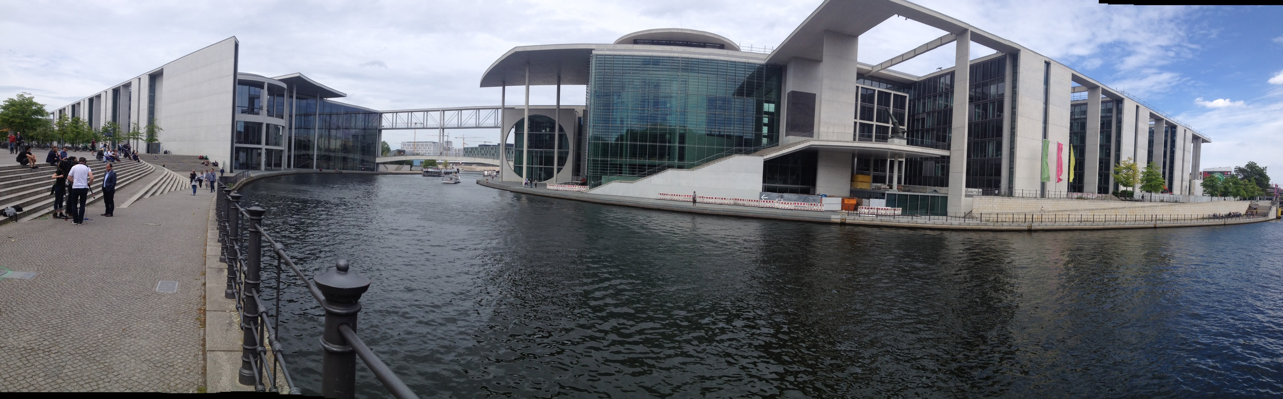 View of the Marie-Elisabeth Lüders-Haus and The Spree