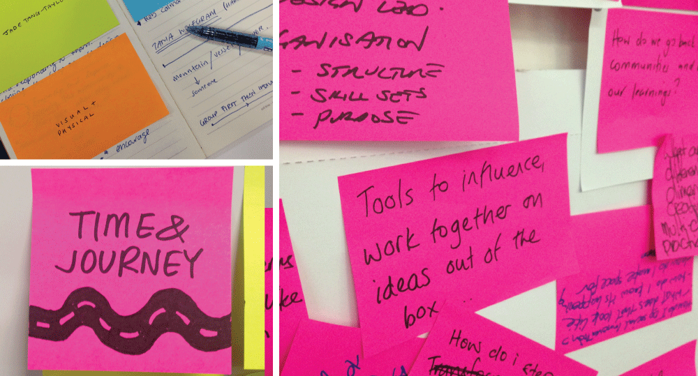 Post It Infographs by The Infographers