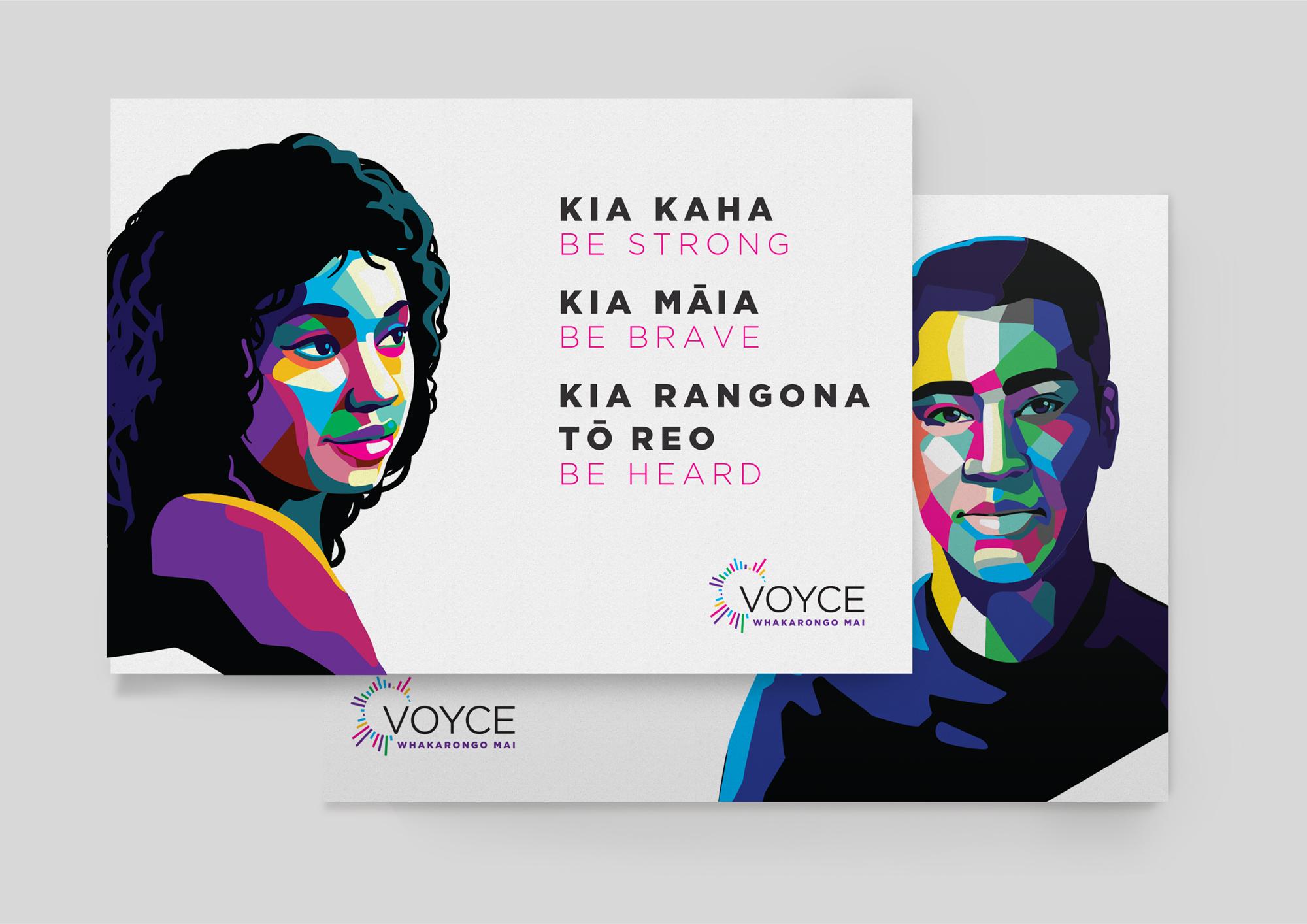 VOYCE - Whakarongo Mai