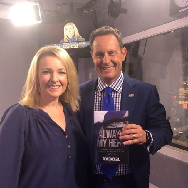 """Renee Nickell joined #TheBrianKilmeadeShow to explain why she wanted to write """"Always My Hero: The Road to Hope & Healing Following My Brother's Death in Afghanistan"""" - to honor her brother & bring awareness to the impacts of the death of a sibling."""