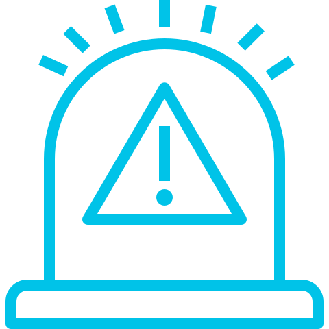 Alert notifications - The Sensor Node CO2 (for Schools Variant) can be programmed to emit a visual alert, as well as pushing an alert to cloud.
