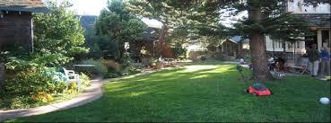 The courtyard at Berkeley Cohousing.