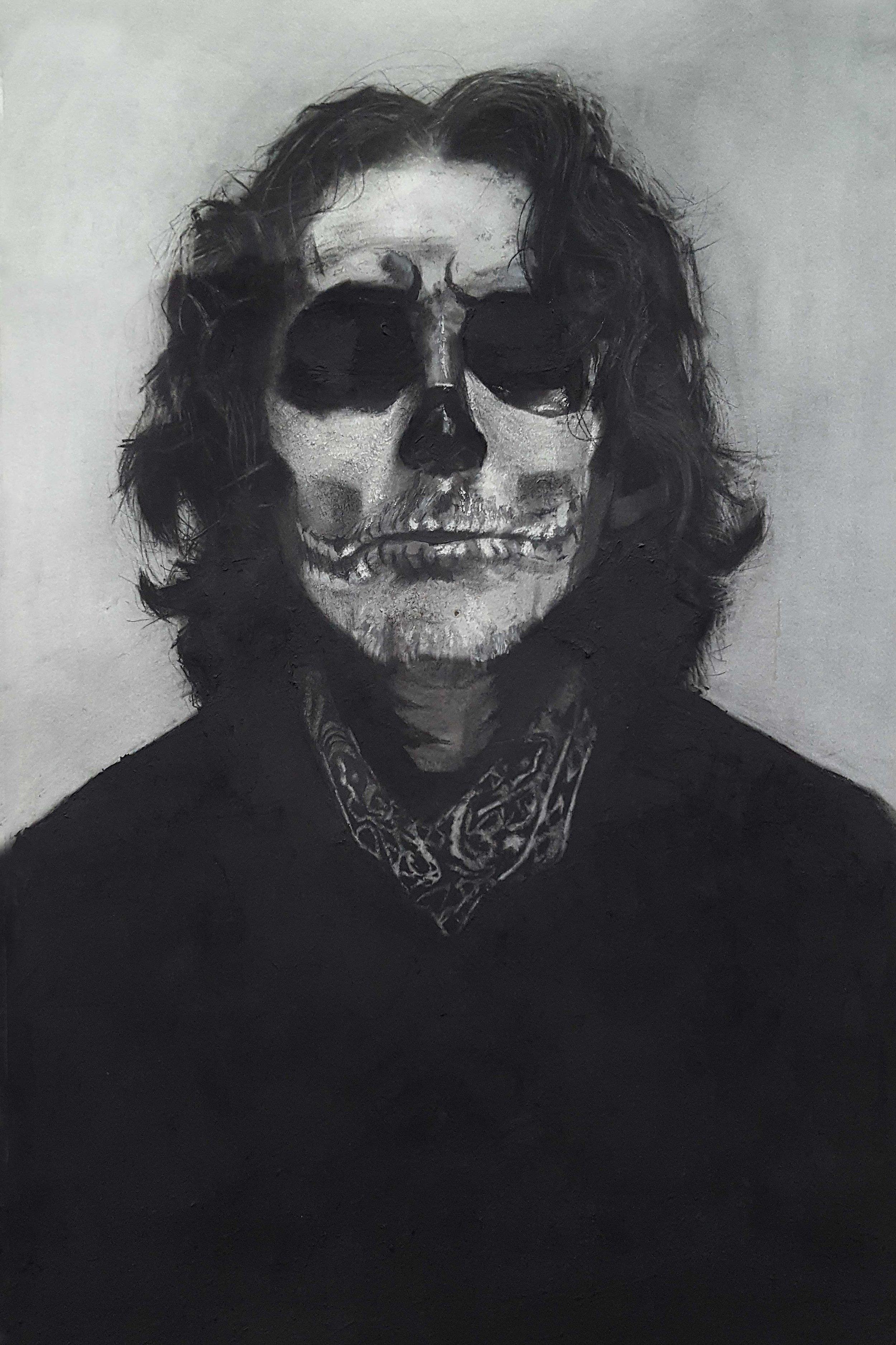 Self Portrait (Charcoal)