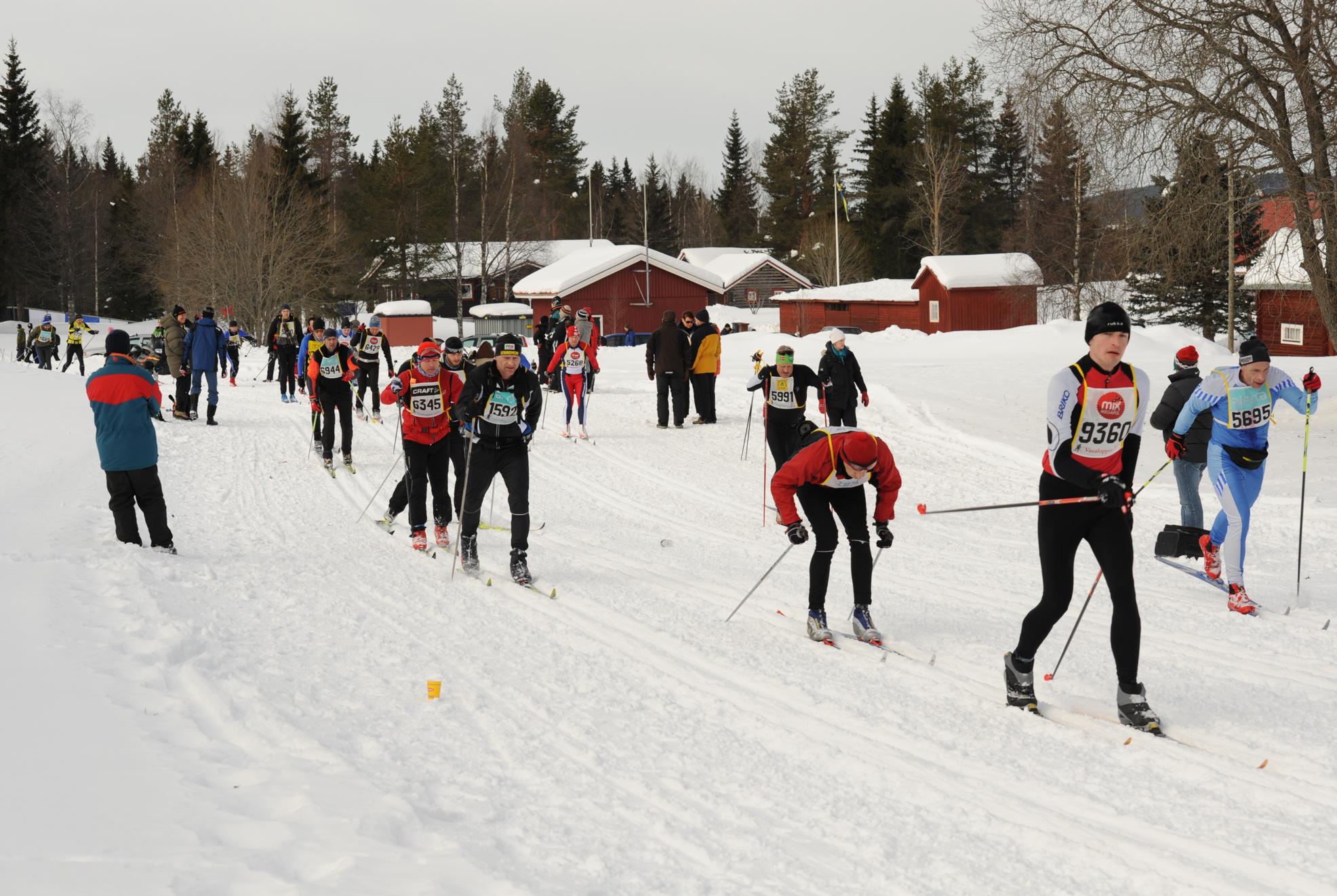 Trening for langløp som Birken og Vasaloppet er bra for hjertet! Foto Bengt Magnusson, www.forskerlivet.no