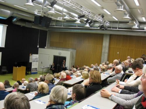 Godt oppmøte på seminaret på Diakonhjemmet sykehus den 24. februar 2015. Foto: Silje Halvorsen,www.forskerlivet.no
