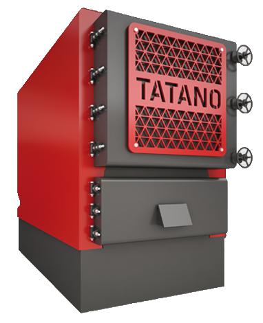 Econosol - Chaudière biomasse TATANO à puissance élevée